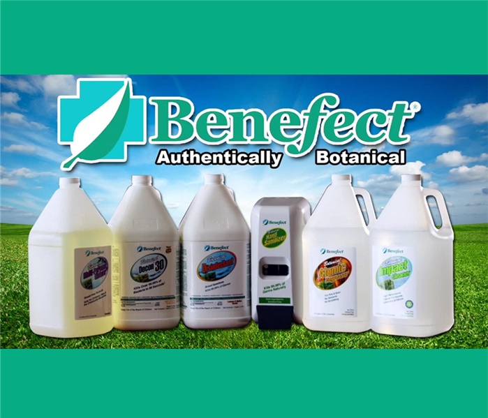Benefect product line - 6 product bottles